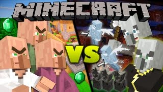 Villagers vs. Illagers - Minecraft