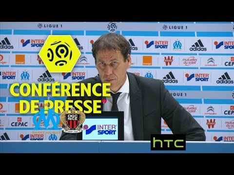 Conférence de presse Olympique de Marseille - OGC Nice (2-1) - Ligue 1 / 2016-17