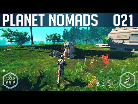 PLANET NOMADS #021 | Autominer - Bergbaumaschine | Let's Play Gameplay Deutsch