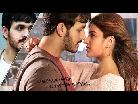 Naalo Neeku Telugu Song/ Akhil Akkineni  / Thaman S /Venky Atluri / Mr. Majnu Lyric Song