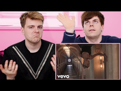 REACTING TO Ariana Grande & Shawn Mendes - No Tears Left To Cry / In My Blood | Niki and Sammy