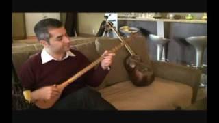 Persian Setar Music by Ali Nouri بداهه نوازی توسط علی نوری