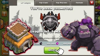 How To Push To Masters League Town Hall 8(Th8)2017!🌟Clash of clans(COC)