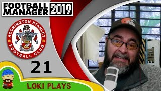 Football Manager 2019 - Episode 21 - Oh Dear - New Season - The Stanley Parable - FM19