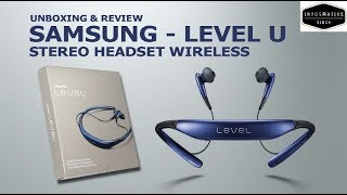 SAMSUNG LEVEL U | WIRELESS HEADPHONES | UNBOXING AND REVIEW |