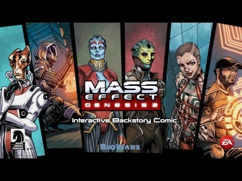 Mass Effect 3 Genesis 2 DLC: Interactive Backstory Comic [Paragon FemShep, version 1]