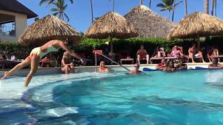 Secrets Royal Beach Punta Cana Dominican Republic - Water Ballet Show