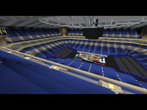 The Alamodome - 2018 NCAA Final Four - Minecraft Creative Build