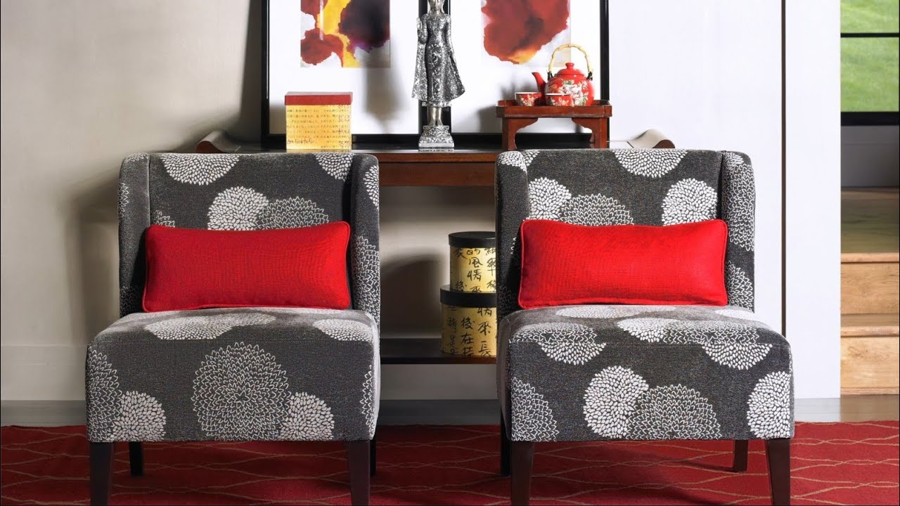 Types Of Accent Chairs   Wingback, Slipper And Arm Chair Styles   YouTube