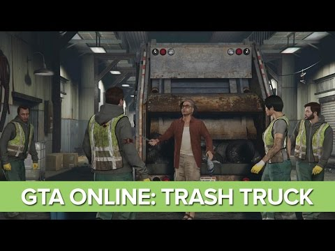 Let's Play GTA Online Trash Truck Heist Mission: Series A - Trash Truck on Xbox One