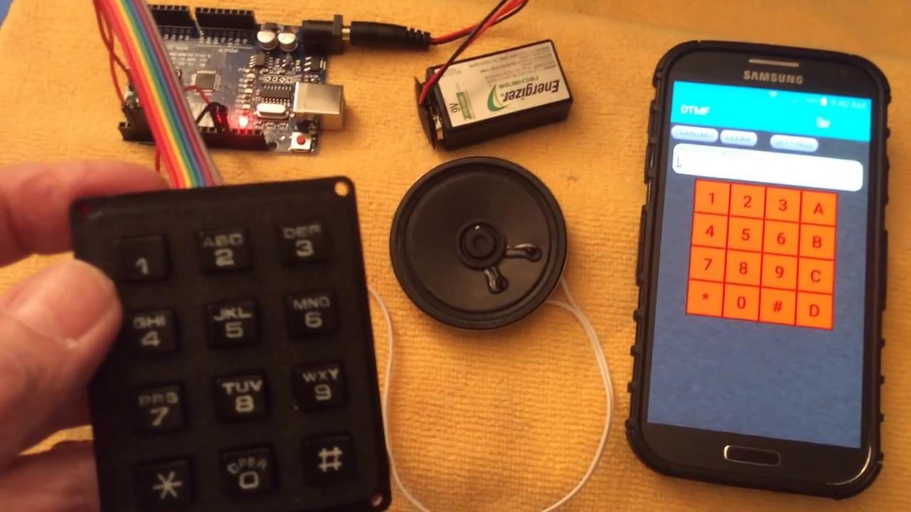 Simple Arduino Dtmf Tone Generator Youtube 7 Channels Remote Control Circuit Diagram Automotivecircuit