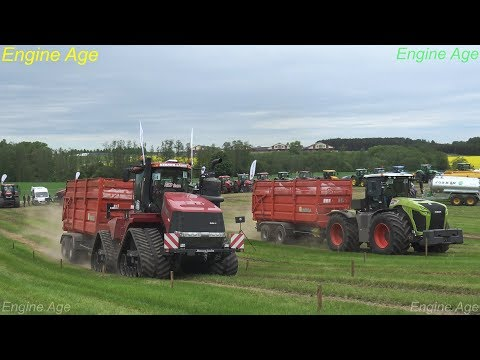 Big Tractor show | Tractor trailer pulling | Big tractor drag race | 2017