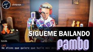 Sesiones Acústicas | PAMBO Sígueme Bailando Acústico | Vlog Christianvib & Niño Rock