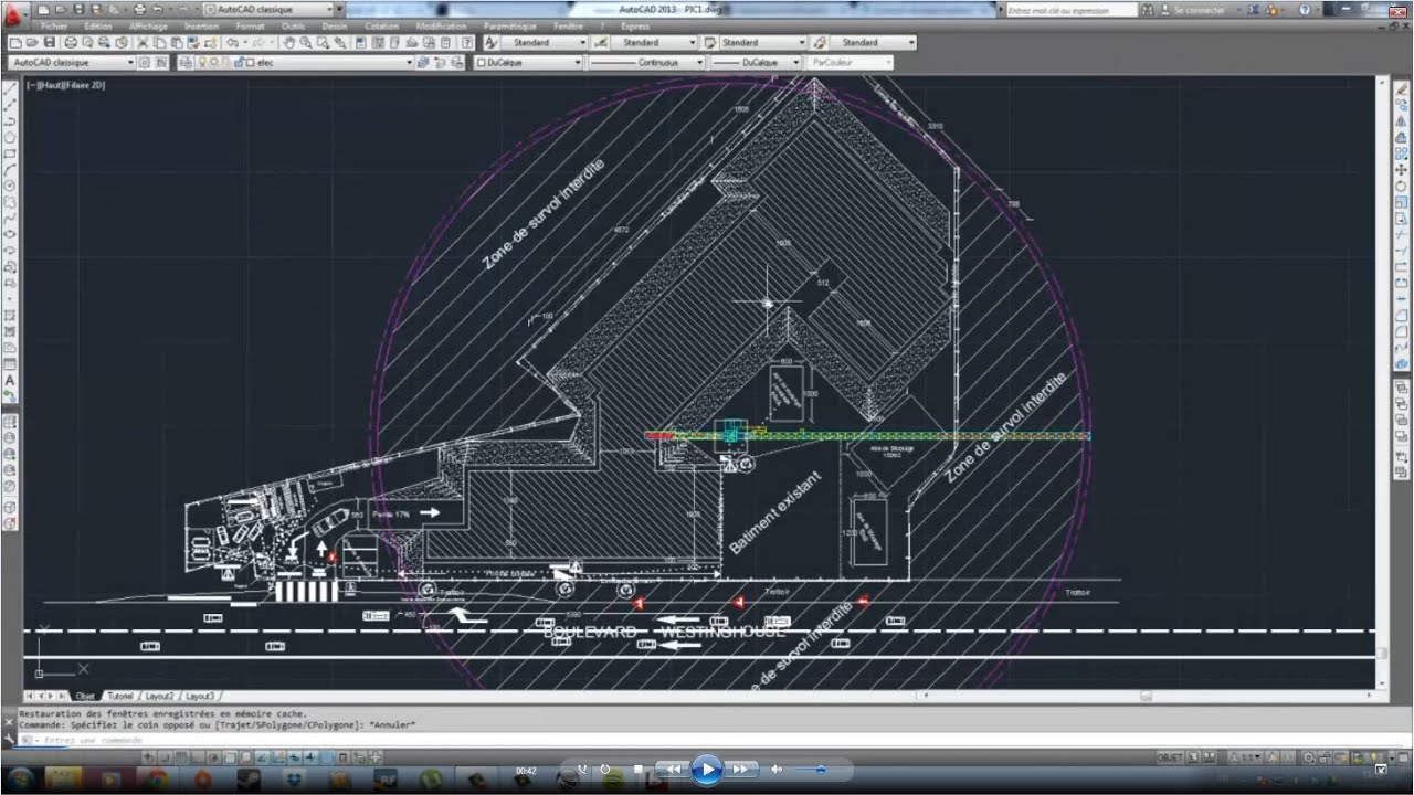 tutoriel autocad espace de pr sentation cartouche. Black Bedroom Furniture Sets. Home Design Ideas