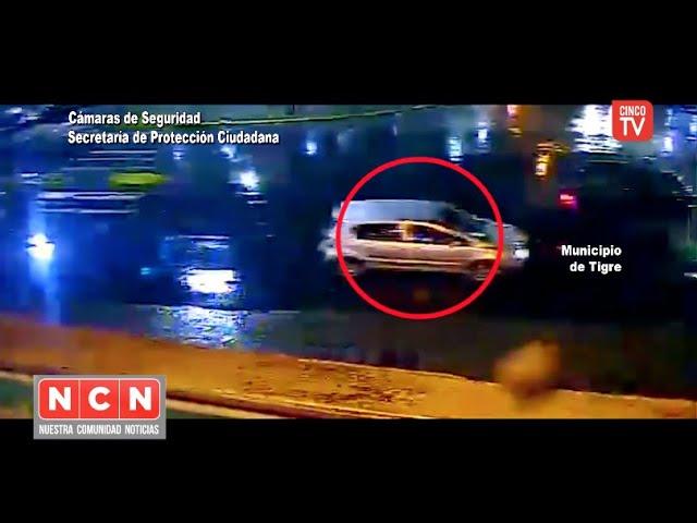 CINCO TV - Circulaban en un auto con pedido de secuestro y fueron detenidos por el COT