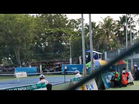Tenis PON XX Papua: Jawa Timur Sabet Medali Emas Beregu Putri