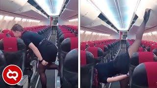Instruksinya Kok Gitu! 10 Kelakuan Konyol Pramugari Terhadap Penumpang Pesawat