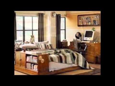 teen boys bedroom decorating ideas - YouTube