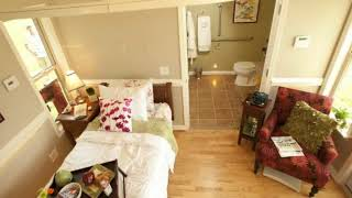 MED Cottages  Gorgeous Cottage Just 288 Square Foot, Beautiful Small House Design