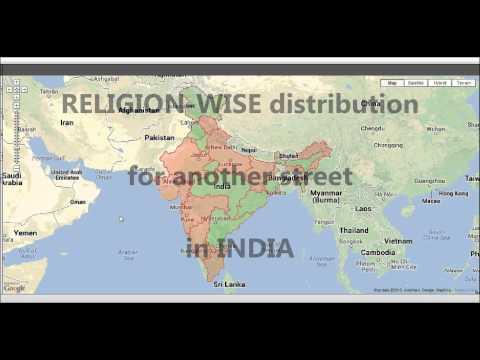 Demographic Distribution in INDIA using Big Data Analytics