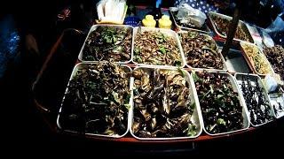 Тайские деликатесы - закуска к пиву (Thailand delicacy - beer snack)
