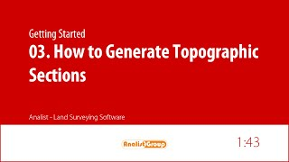 How to Generate Topographic Sections