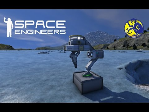 Space Engineers - S01E14 - Mobile Turrets