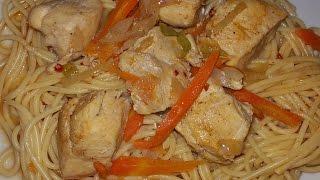 Спагетти с курицей(Chicken Spaghetti)