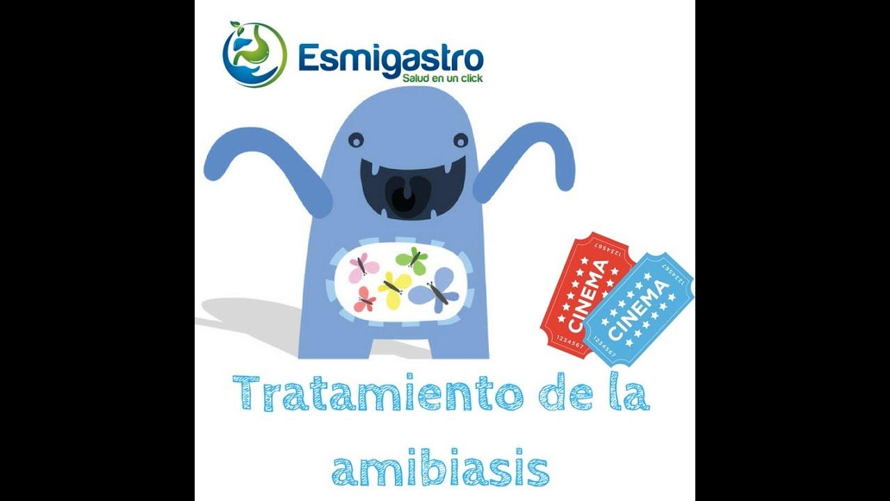 parásitos amebiasis entamoeba histolytica infección tratamiento