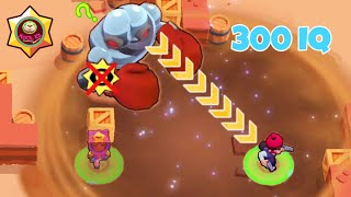 300 IQ or LUCKY, ROBO TROLL! Brawl Stars Funny Moments, Wins and Fails