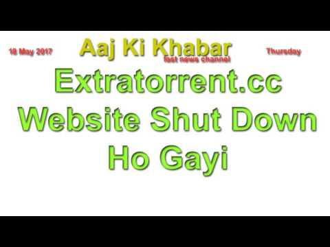 Extratorrent.cc Website Shut Down Ho Gayi
