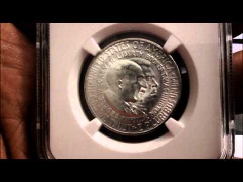 1953 S Washington / Carver Silver Half Dollar