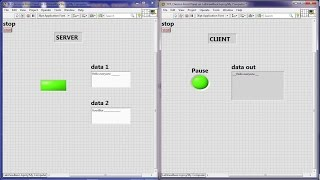 LabView Basic 14 : TCP