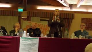 Assessore Michele Civita all'assemblea dei consorzi