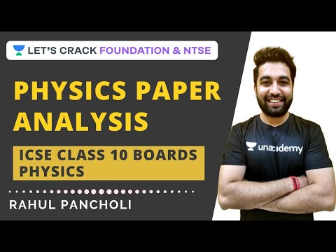 ICSE Class 10 All Regions 2020 Solutions | Physics Question Paper Analysis | ICSE Board Exam 2020