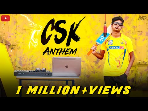 CSK Anthem X Mi Gente | IPL 2018 | Mi Gente Remix Cover | MD | ft. TSK | #CSKreturnsanthem
