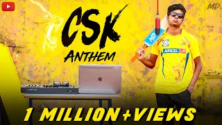 CSK Anthem X Mi Gente | IPL 2018 | Mi Gente Remix Cover | MD | ft. TSK | #CSKreturnsanthem