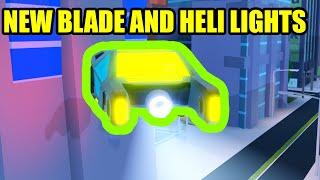 NEW BLADE VEHICLE and HELI LIGHTS UPDATE! | Roblox Jailbreak