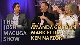 Amanda Gordon, Mark Ellis, and Ken Napzok - The Josh Macuga Show - Put a Ring On It!