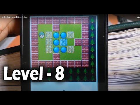 Sokoban Level 8 Solution