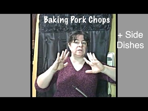 How To Bake Pork Chops + Easy Side Dishes - Sheri Ann Richerson Facebook Live Replay