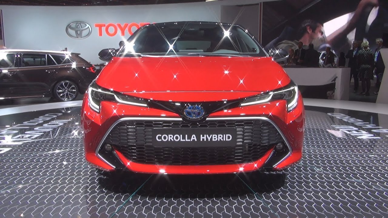 toyota corolla hybrid 2019 exterior and interior youtube. Black Bedroom Furniture Sets. Home Design Ideas