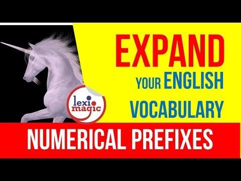 Numerical Prefixes
