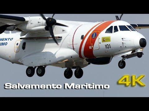 Salvamento Maritimo CASA CN 235 MPA [4K]