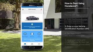 How to Start Using HondaLink® on the 2018 Honda Accord