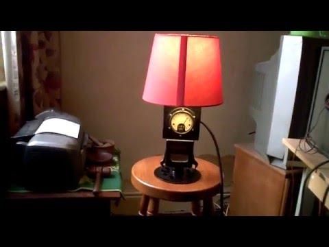 Working Meter Lamp