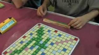 Speed Scrabble game