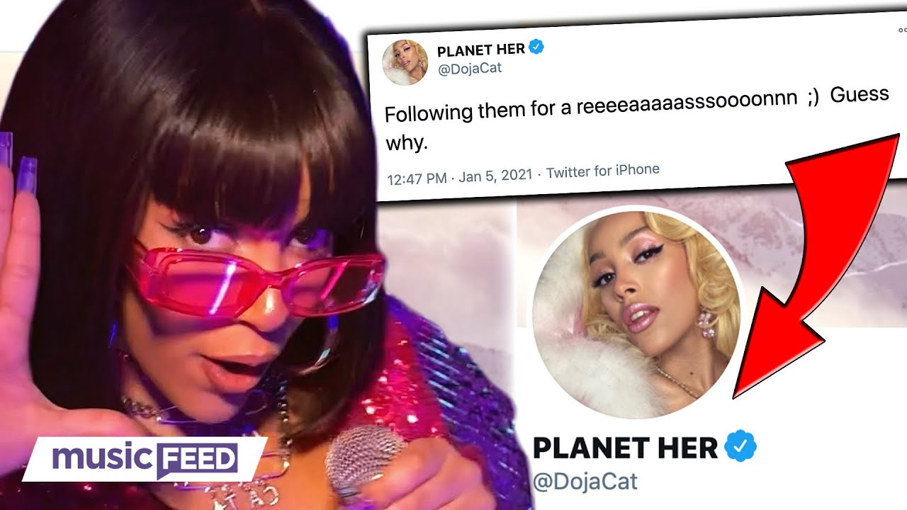 Doja Cat Announces New Album Planet Her Ft. the Weeknd, Ariana ...