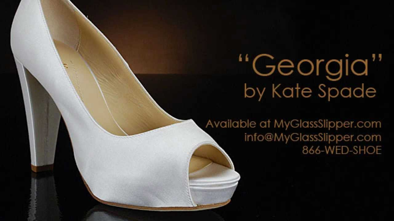 Wedding shoe review for georgia by kate spade youtube junglespirit Gallery
