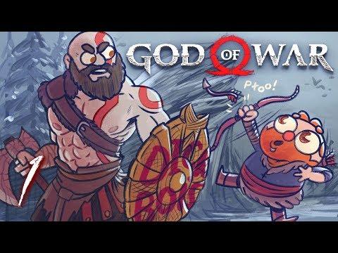 God Of War HARD MODE (God Of War 4) Part 1 - W/ The Completionist